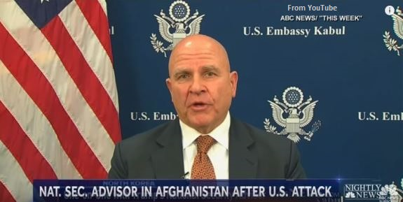 McMaster in Afghanistan