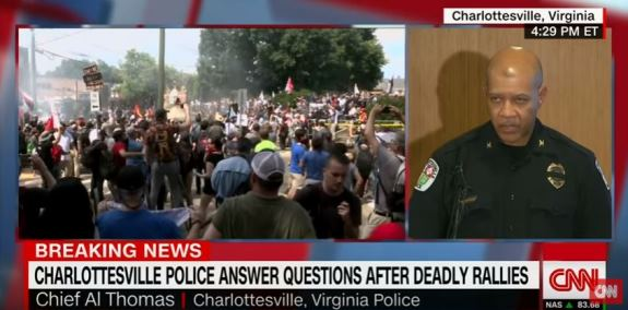 Charlottesville police chief