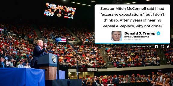 Trump McConnell tweet