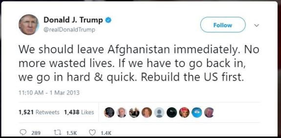 2013 Trump tweet