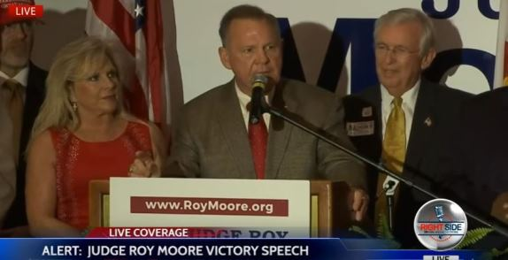 Roy Moore Victory Speech