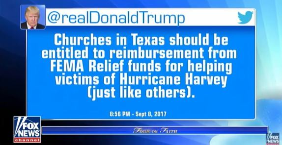 Churches FEMA