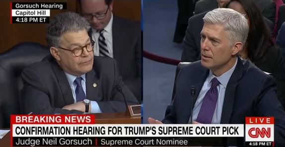Franken and Gorsuch