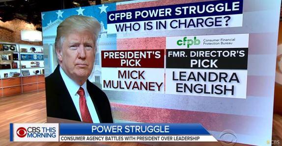 CFPB Power Struggle