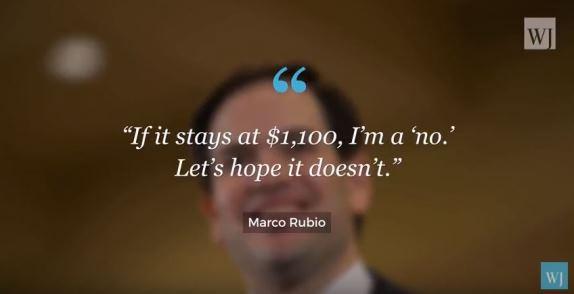 Rubio on tax bill
