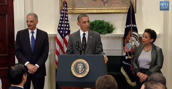 Obama Holder Lynch