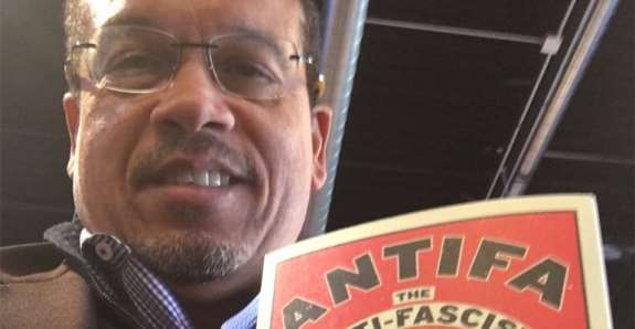 Keith Ellison Antifa