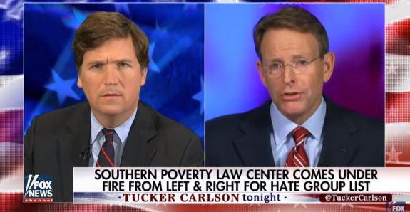 Tucker Carlson SPLC