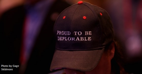 Proud to be depolorable