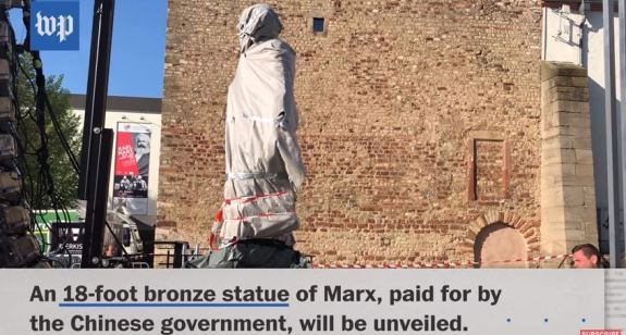a look into karl marx and his theories of communism A worker helps install a statue of german philosopher, economist, political  theorist and sociologist karl marx in his hometown of trier last month.