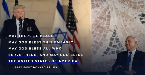 Trump Israel Embassy