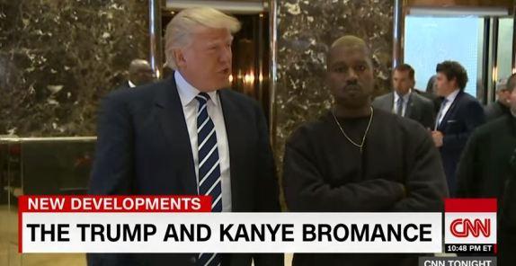 Trump and Kanye