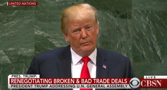 Trump UN Speech