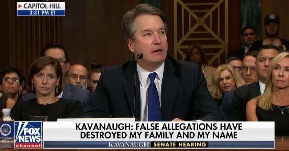 Kavanaugh testimony