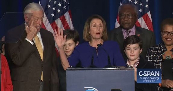 Pelosi Victory Speech