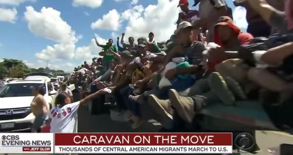 Caravan on the move