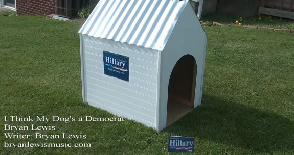 Dog is a Democrat