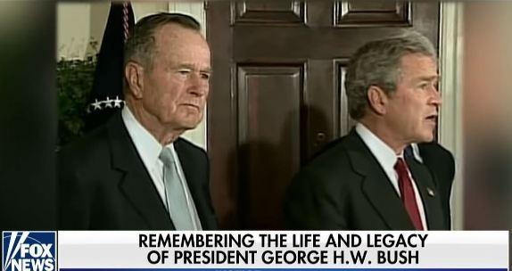 HW Bush legacy