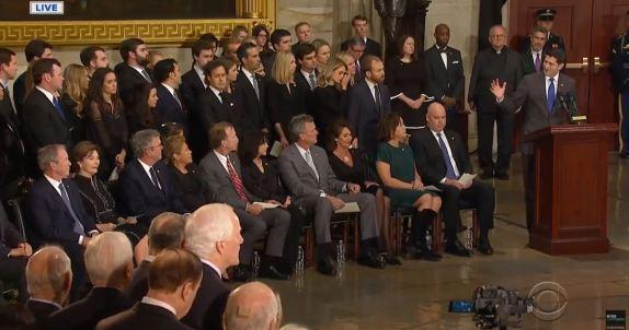 Paul Ryan speaks in rotunda