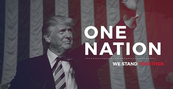 Trump we stand together