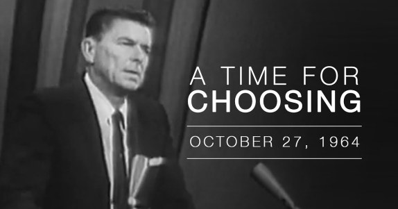Reagan A time for choosing