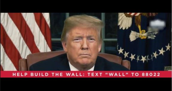 Trump help build the wall