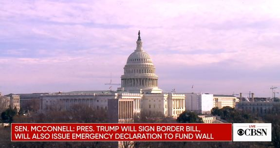 Trump to declare national emergency
