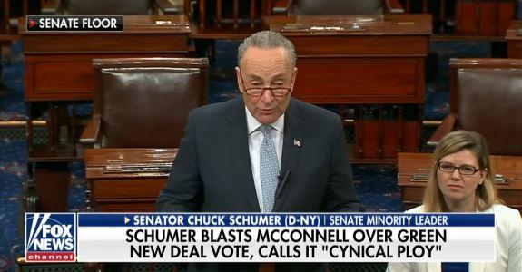 Chucky Schumer Green New Deal