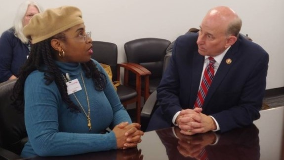 Renee Miller and Louie Gohmert