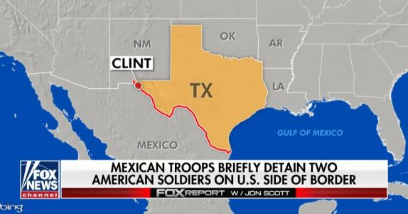 US Military Mexican Military