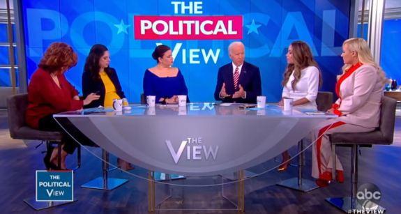 Joe Biden The View