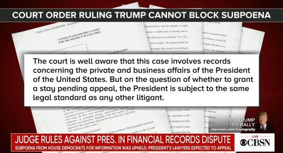 Judge Trump Business Records