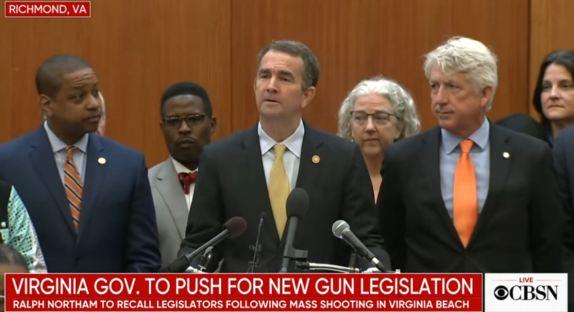 Ralph Northam Gun Legislation