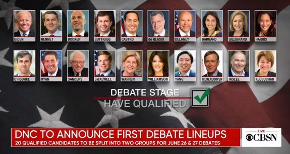 Democrat Primary Debates