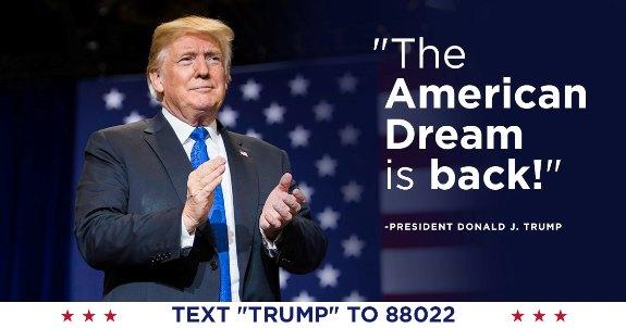Trump American Dream is Back