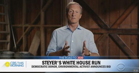 Tom Steyer Runs