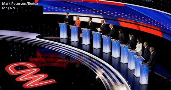 CNN Debate Stage Night 2