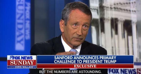 Mark Sanford Announces