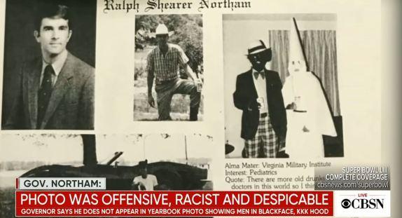 Ralph Northam yearbook