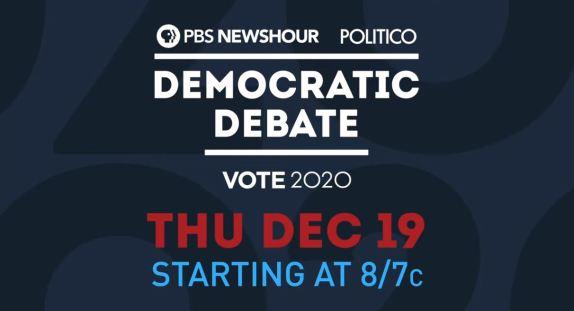 Democrat debate