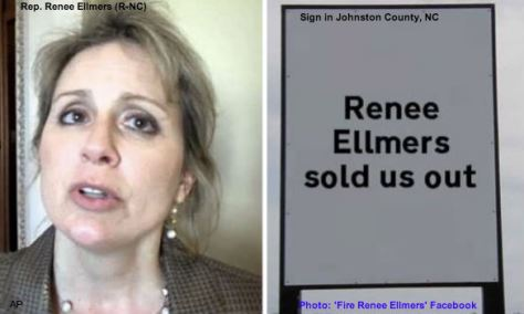 Renee Ellmers Sold Us Out