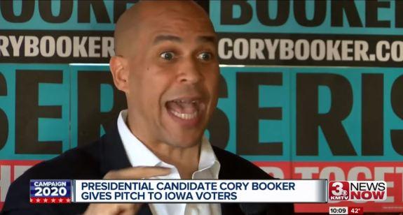 Cory Booker Iowa