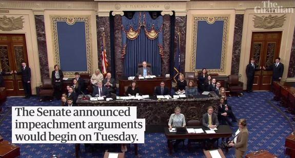 Senate Impeachment arguments