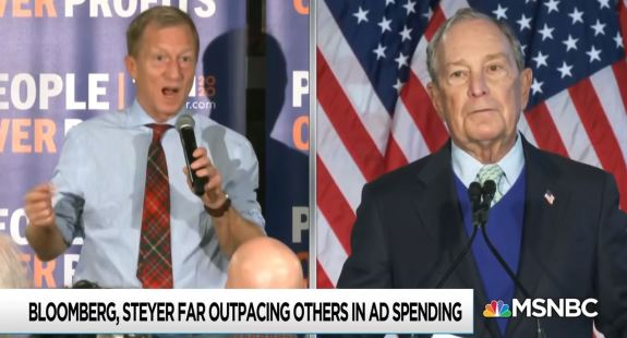 Bloomberg and Steyer