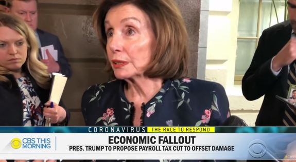 Economic fallout Coronavirus Pelosi