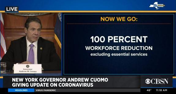 Workforce reduction