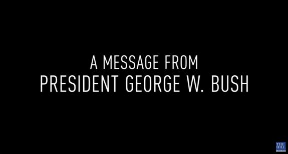 Message from George W Bush