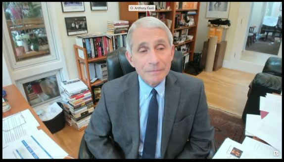 Fauci Testifies Remotely