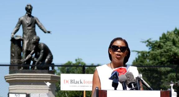 Star Parker Emancipation Memorial