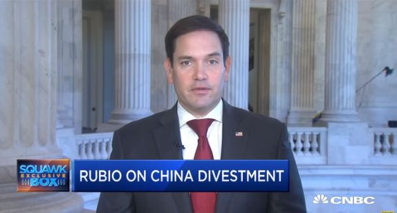 Rubio on China Divestment